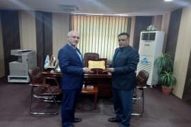 زيارة وفد الجمعية العراقية للادارة الهندسية لمركز بحوث البيئة
