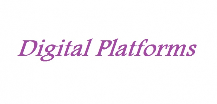 "Lecture entitled ""Digital Platforms"""