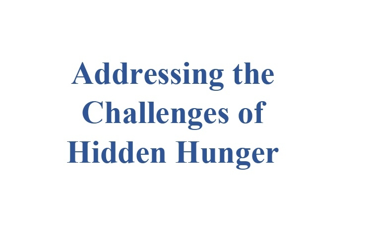 The scientific symposium entitled (Addressing the Challenges of Hidden Hunger)